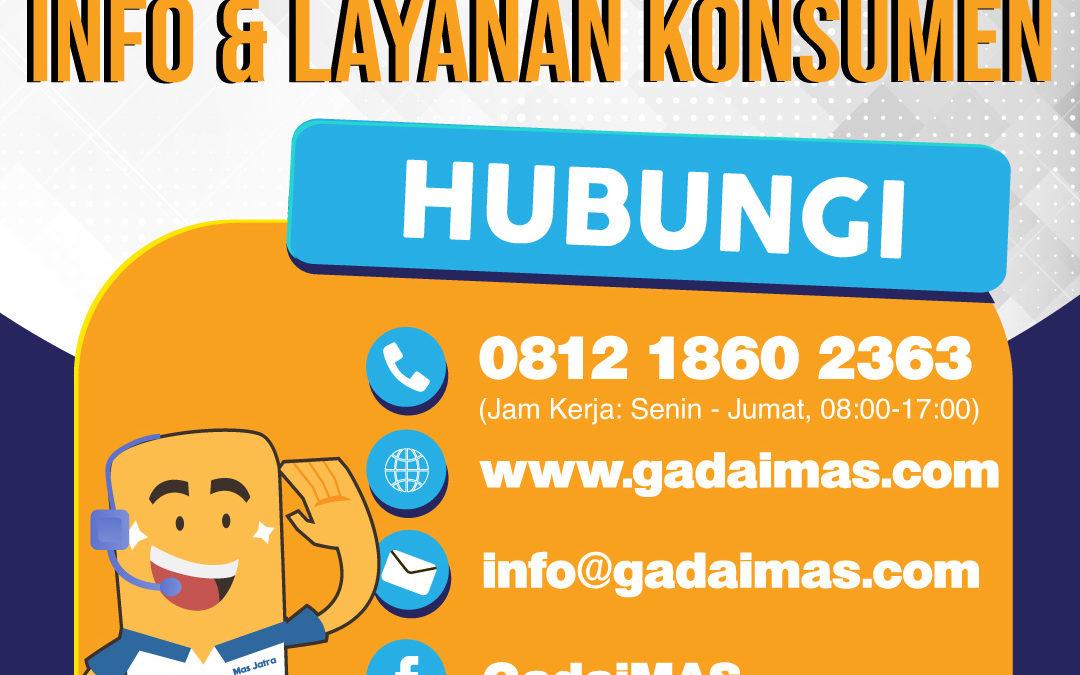 Layanan Konsumen Gadai MAS Siap Melayani Anda