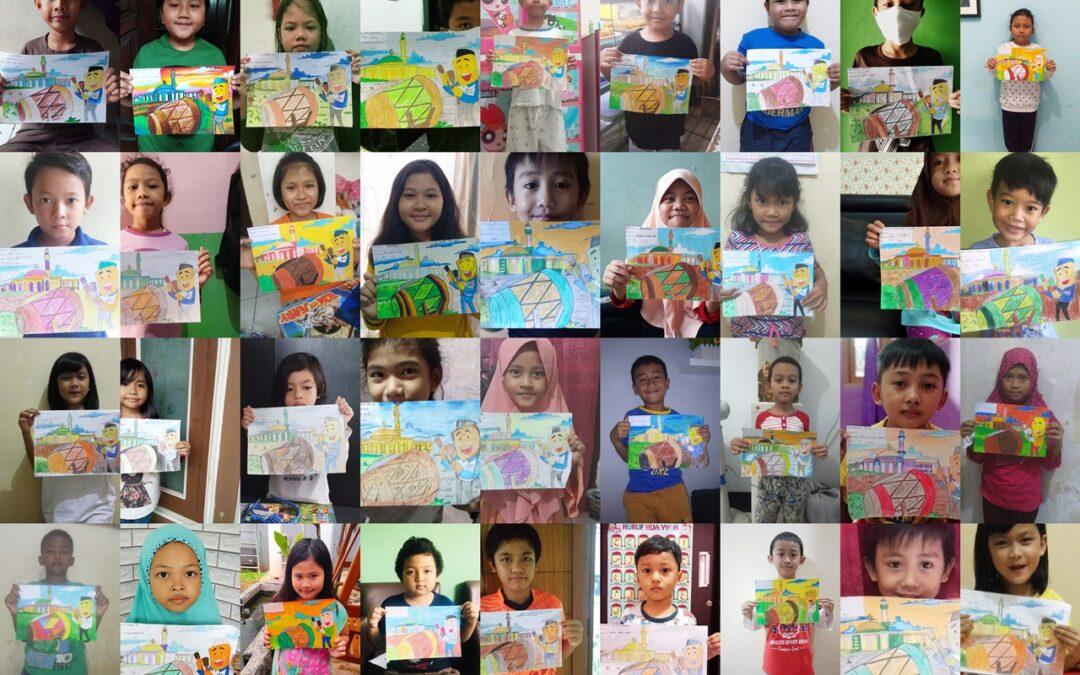 Pandemi Covid-19 Gadai MAS DKI Ajak Anak Nasabah Untuk Lomba Mewarnai Di Rumah