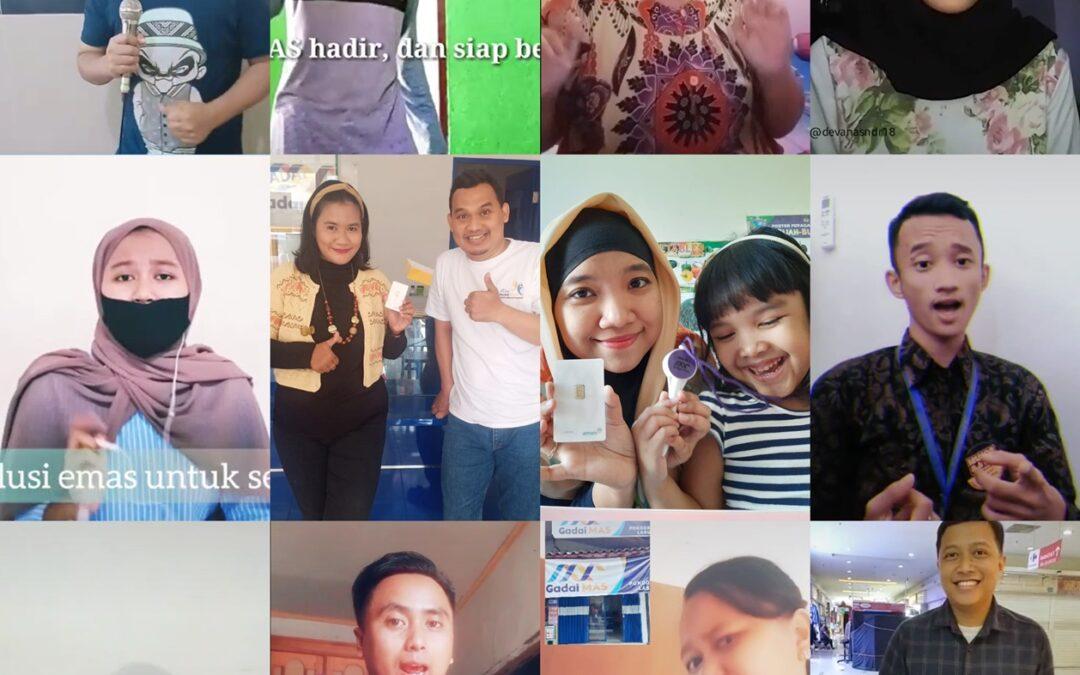Hibur Nasabah & Follower, Gadai MAS adakan Lomba Tik Tok & Karaoke